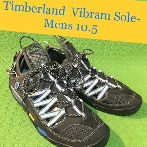 Timberland shoes Vibram soles  hiking shoes 10.5